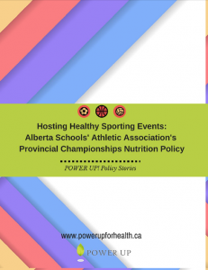 Hosting Healthy Sporting Events